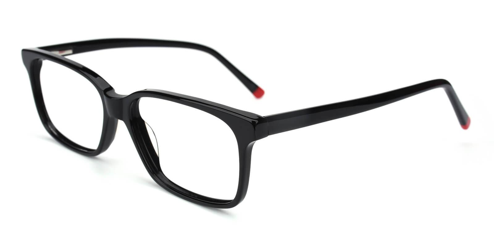 Bolayer-Black-Rectangle-Acetate-Eyeglasses-detail