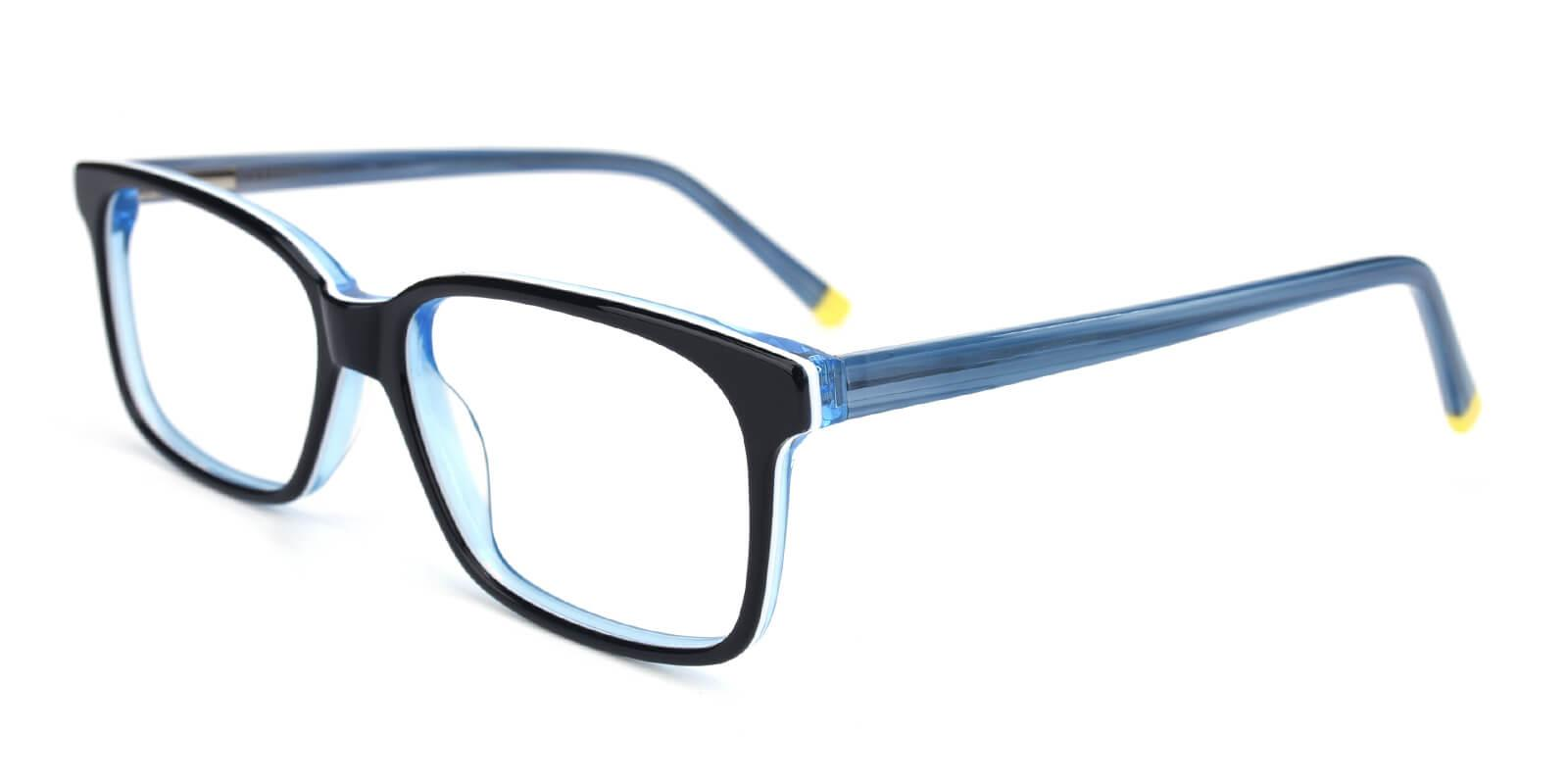 Bolayer-Blue-Rectangle-Acetate-Eyeglasses-additional1