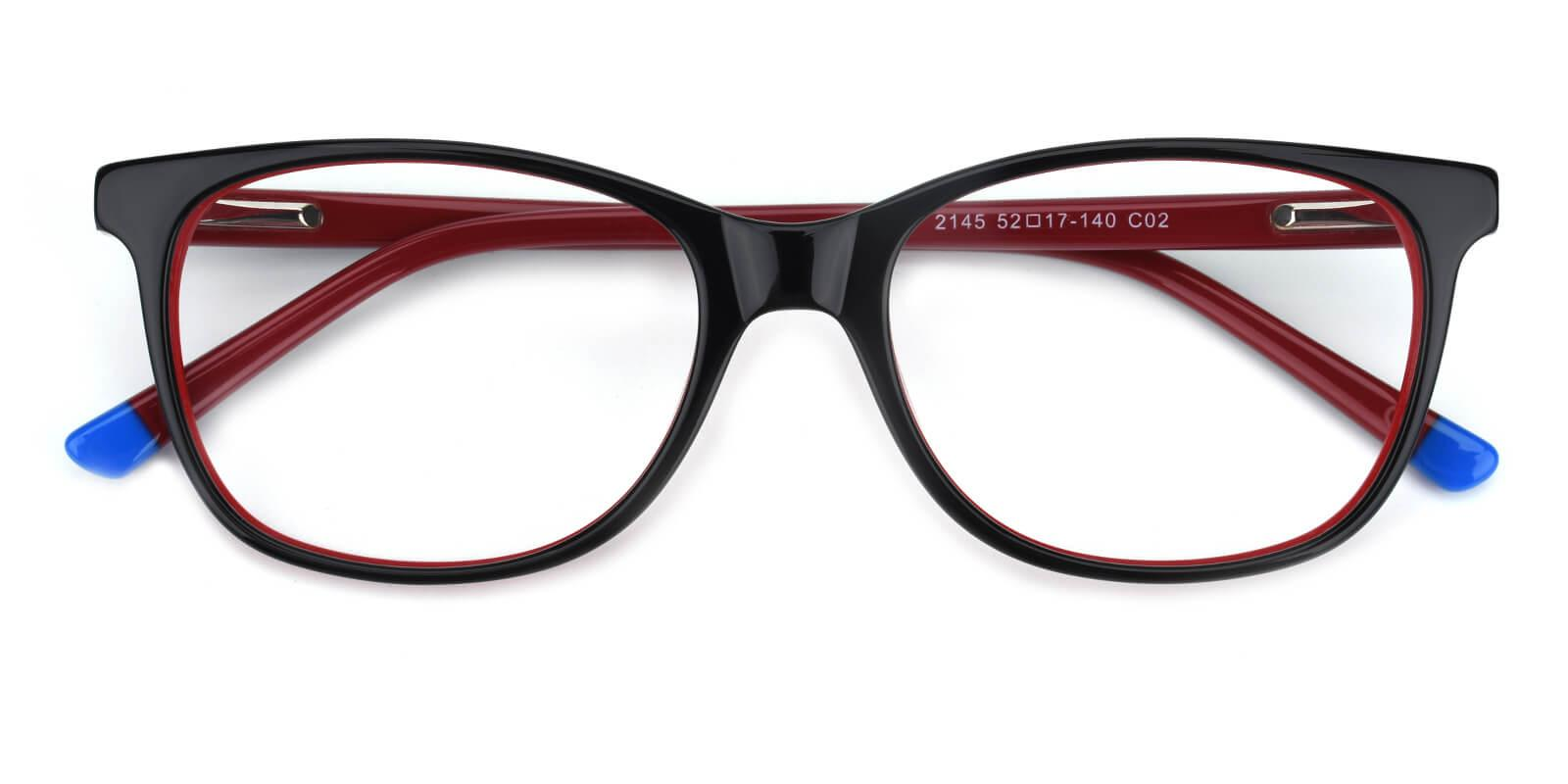 Sandwich-Red-Square-Acetate-Eyeglasses-detail