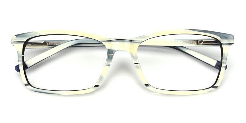 Crane-Pattern-Eyeglasses