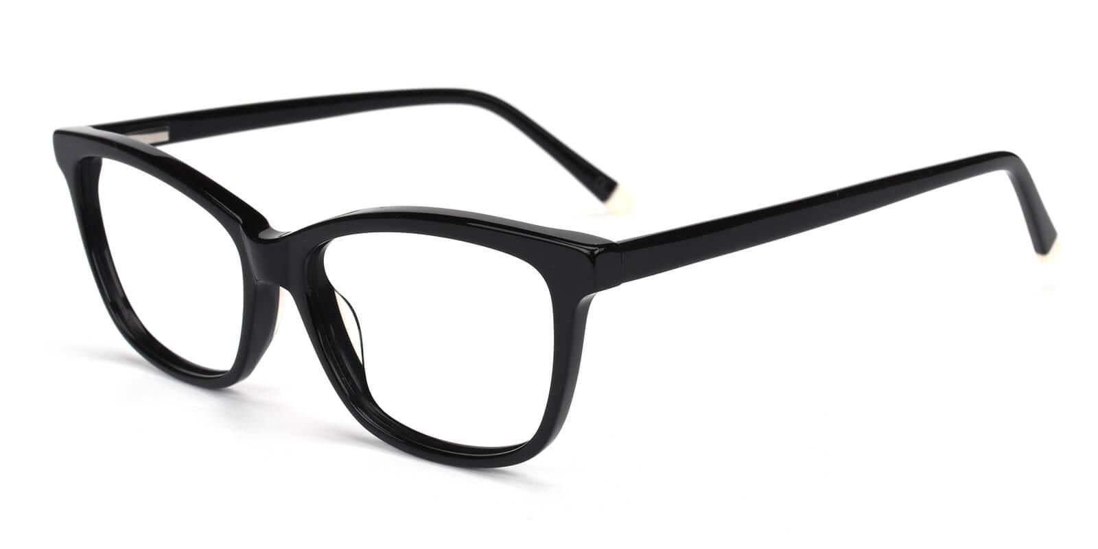 Clowdia-Black-Square / Cat-Acetate-Eyeglasses-additional1