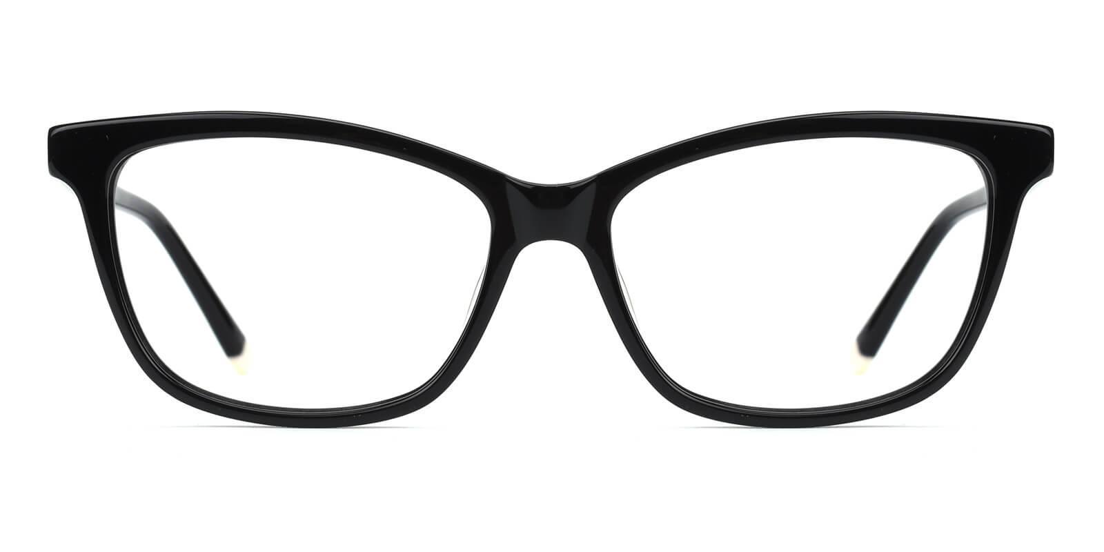 Clowdia-Black-Square / Cat-Acetate-Eyeglasses-additional2