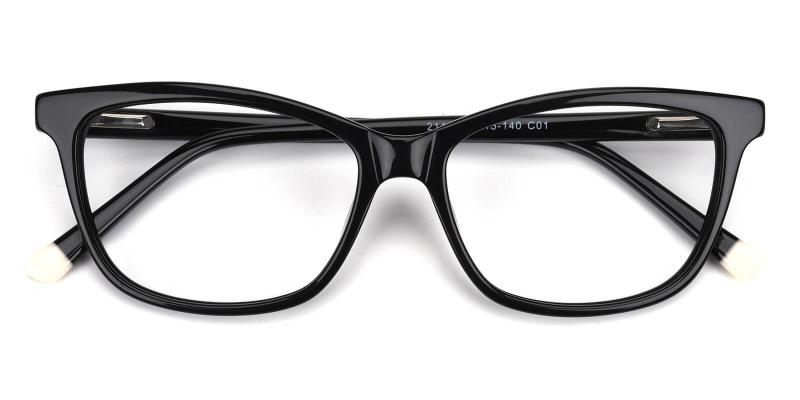 Ezra-Black-Eyeglasses