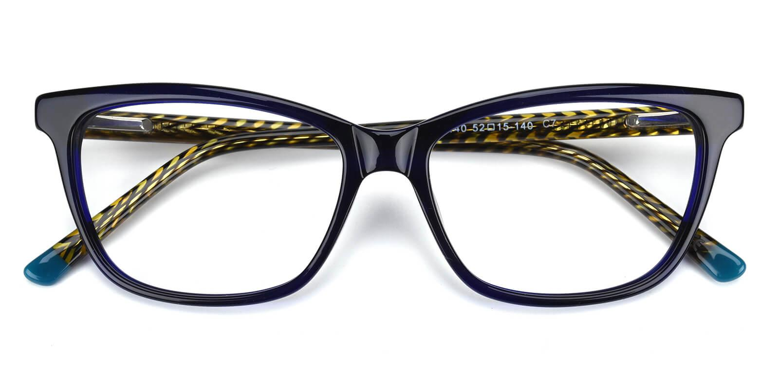 Ezra-Blue-Cat-Acetate-Eyeglasses-detail