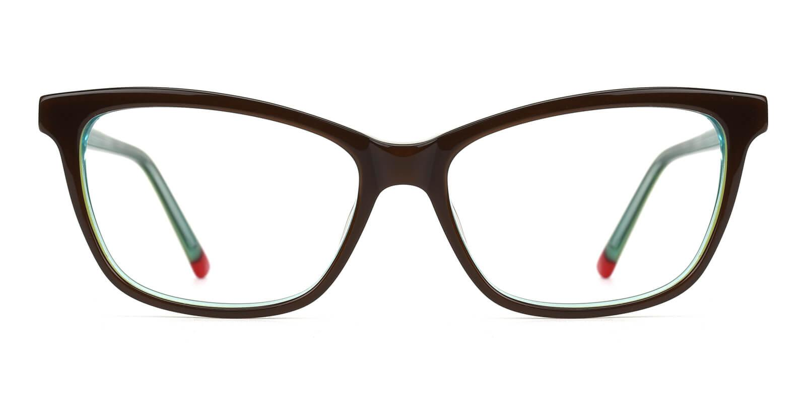Clowdia-Green-Square / Cat-Acetate-Eyeglasses-additional2