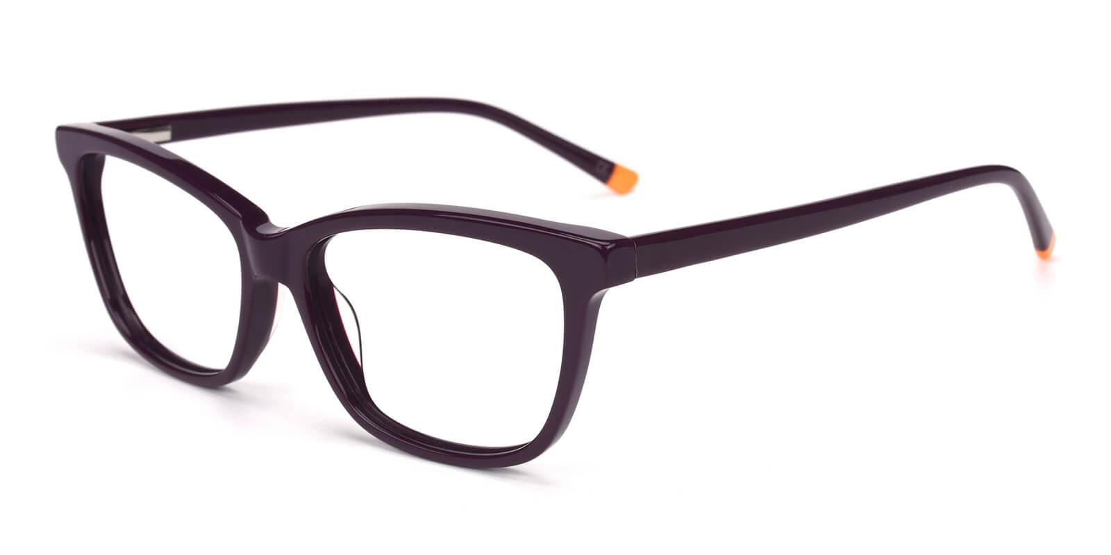 Clowdia-Purple-Square / Cat-Acetate-Eyeglasses-additional1