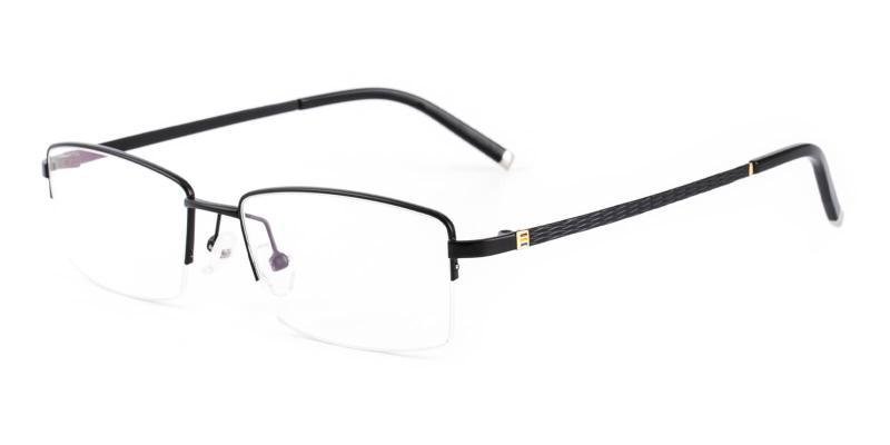 Emerge-Black-Eyeglasses