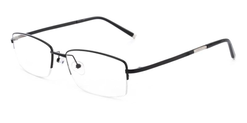 Revelino-Black-Eyeglasses