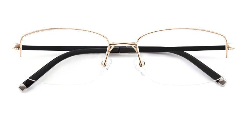Revelino-Gold-Eyeglasses