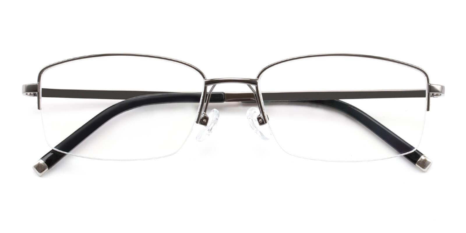 Revelino-Gun-Rectangle-Titanium-Eyeglasses-detail