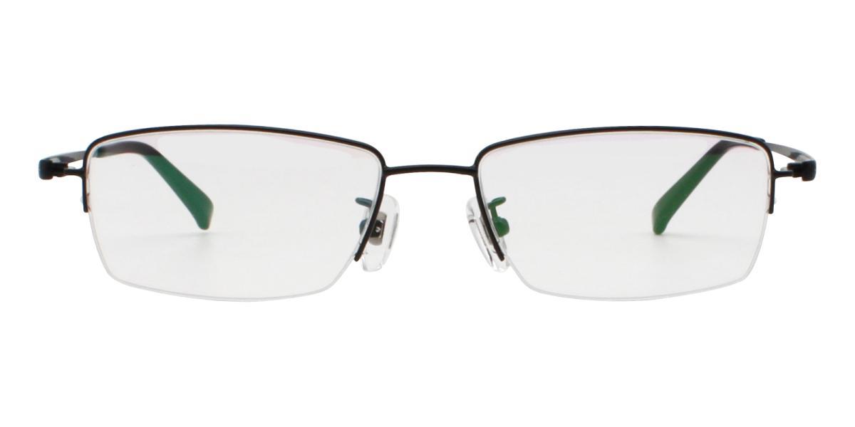 -Black-Rectangle-Titanium-Eyeglasses-detail