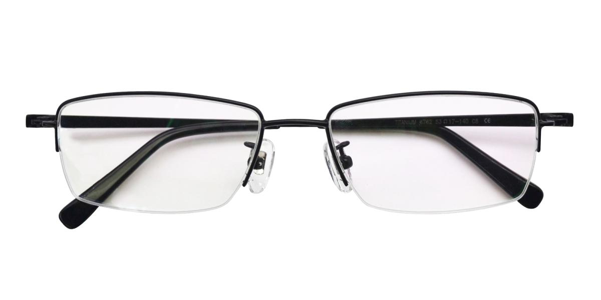 -Black-Rectangle-Titanium-Eyeglasses-detail