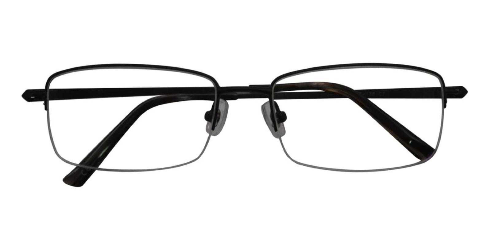 Oliv-Black-Rectangle-Titanium-Eyeglasses-detail