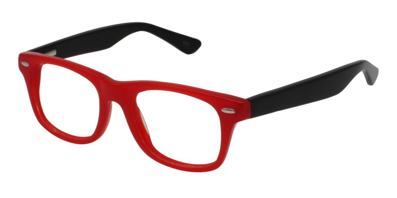Bristol-Red-Square-Acetate-Eyeglasses-additional1