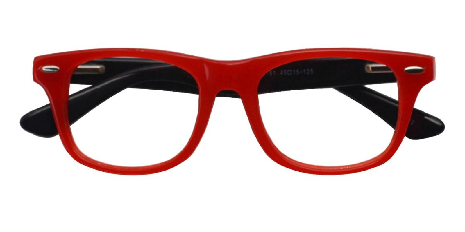 Bristol-Red-Square-Acetate-Eyeglasses-detail