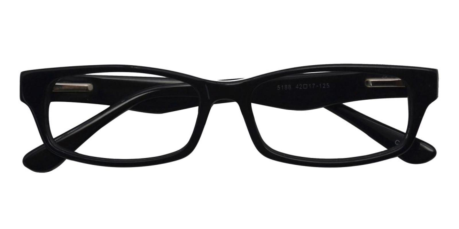 -Black-Rectangle-Acetate-Eyeglasses-detail