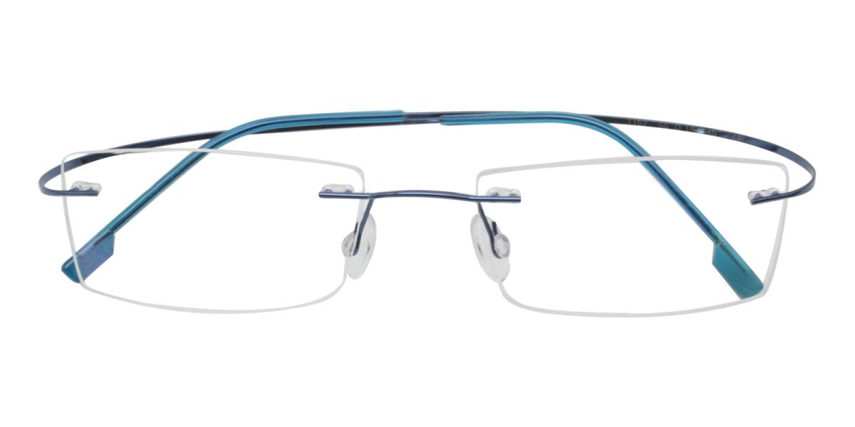 Terre-Blue-Varieties-Metal / Memory-Eyeglasses-detail
