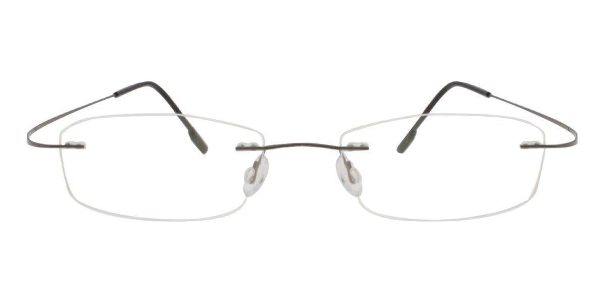 Terre-Gun--Metal / Memory-Eyeglasses-detail