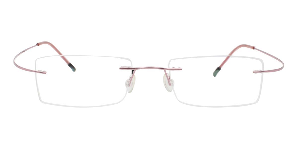 Terre-Pink-Varieties-Metal / Memory-Eyeglasses-detail