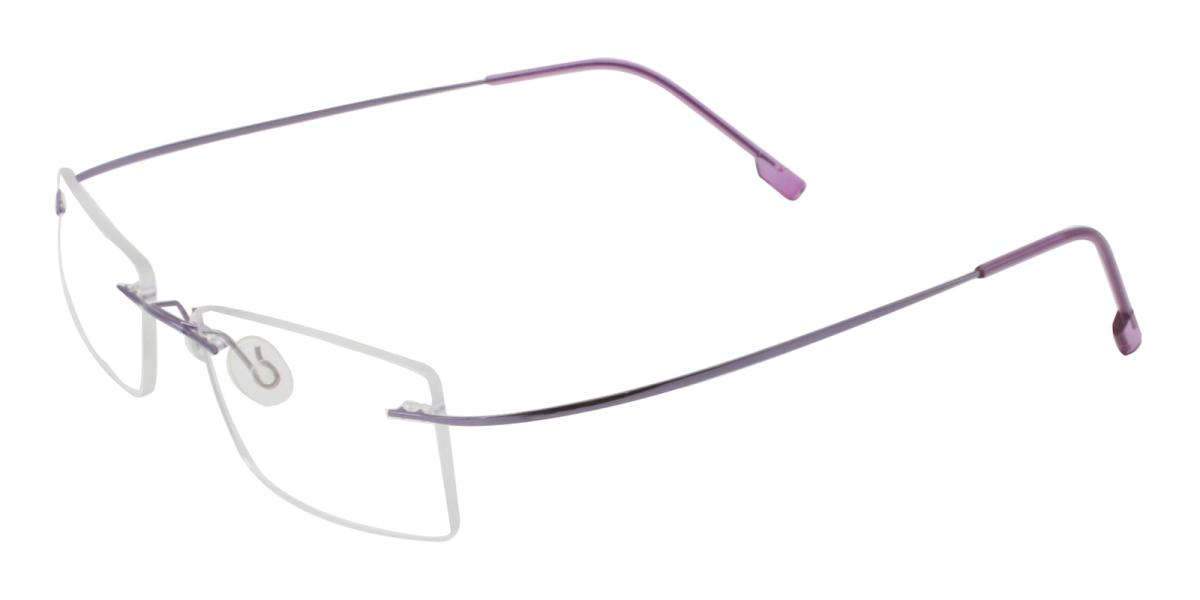 Terre-Purple-Varieties-Metal / Memory-Eyeglasses-detail