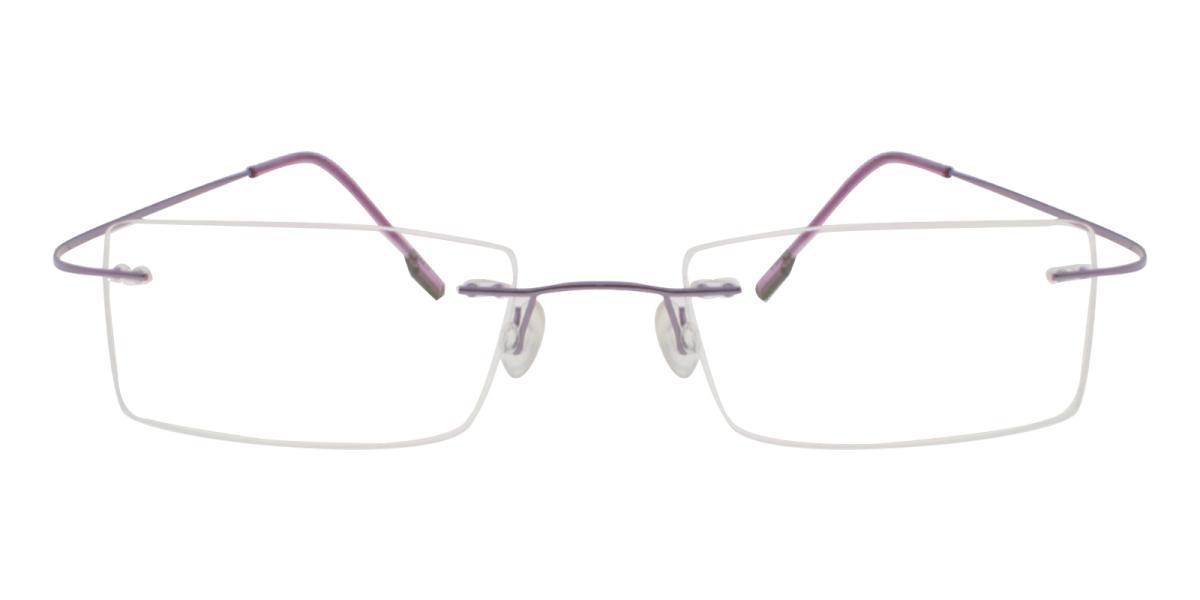 Terre-Purple-Varieties-Metal / Memory-Eyeglasses-detail