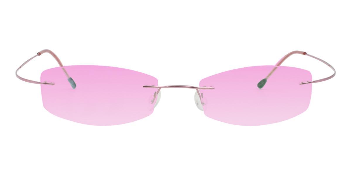 -Pink--Metal / Memory-Eyeglasses-detail