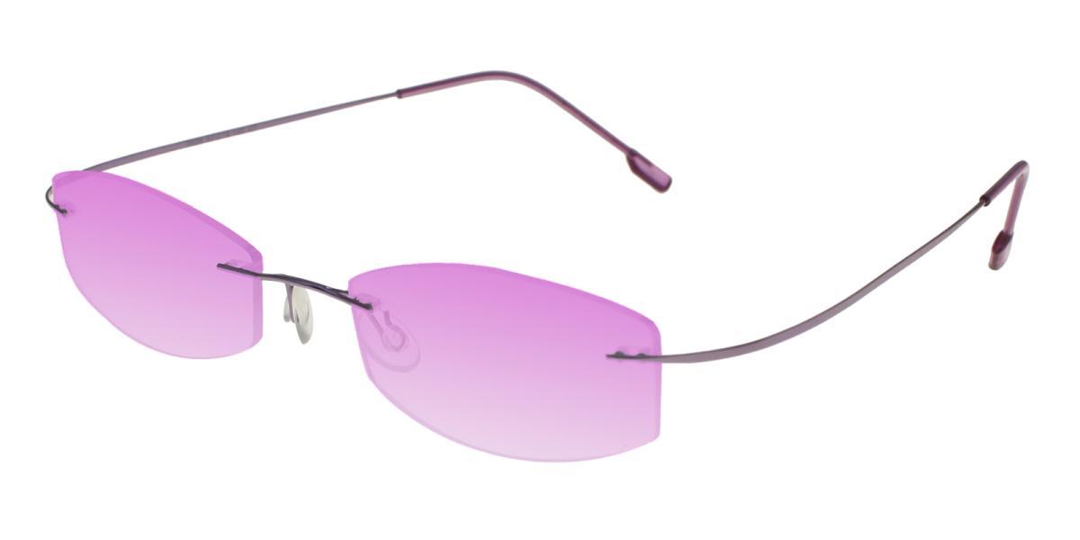 -Purple--Metal / Memory-Eyeglasses-detail