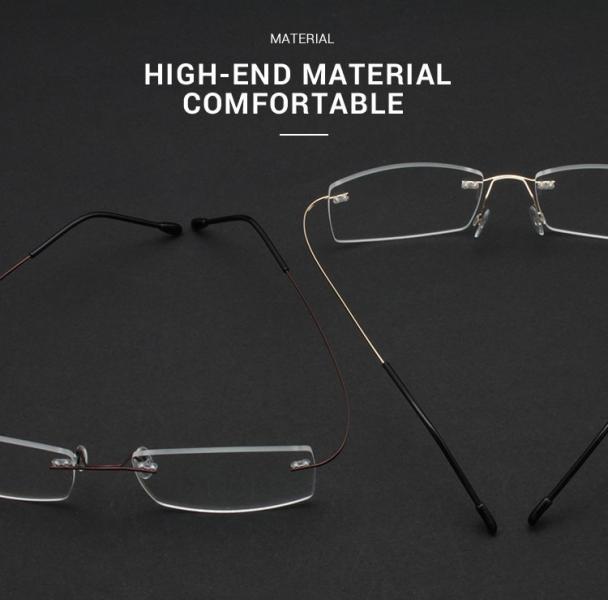 Slimly-Brown-Memory / Metal-Eyeglasses-detail2
