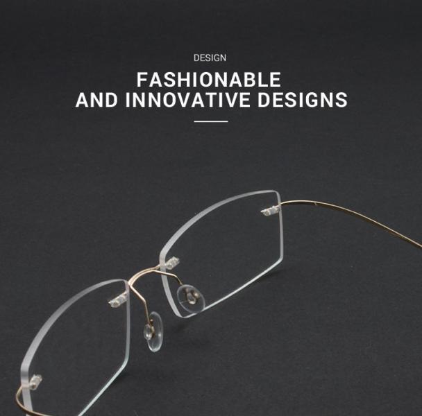 Slimly-Brown-Memory / Metal-Eyeglasses-detail3