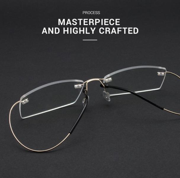 Slimly-Brown-Memory / Metal-Eyeglasses-detail4