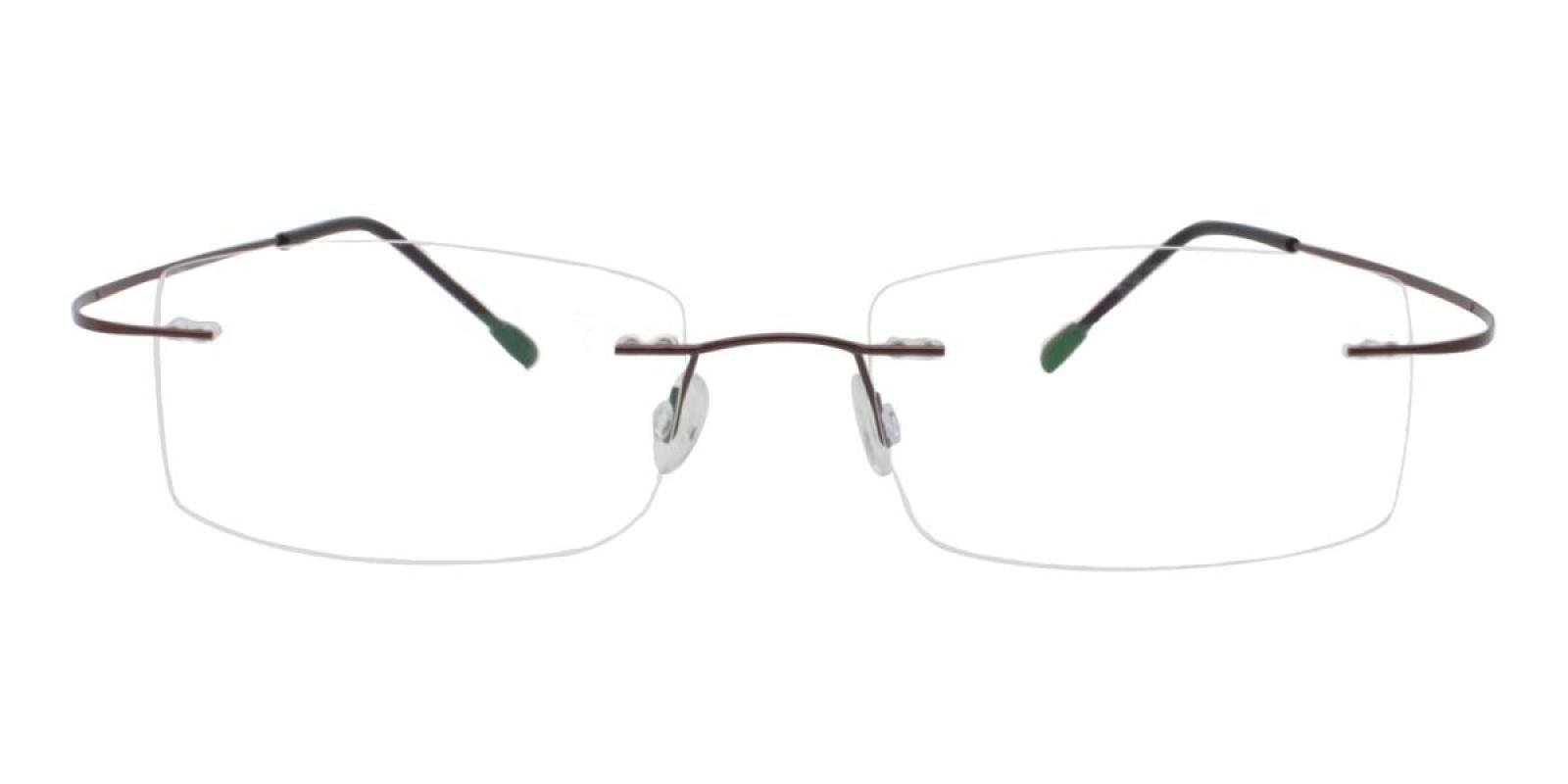 Slimly-Brown-Varieties-Memory / Metal-Eyeglasses-additional2
