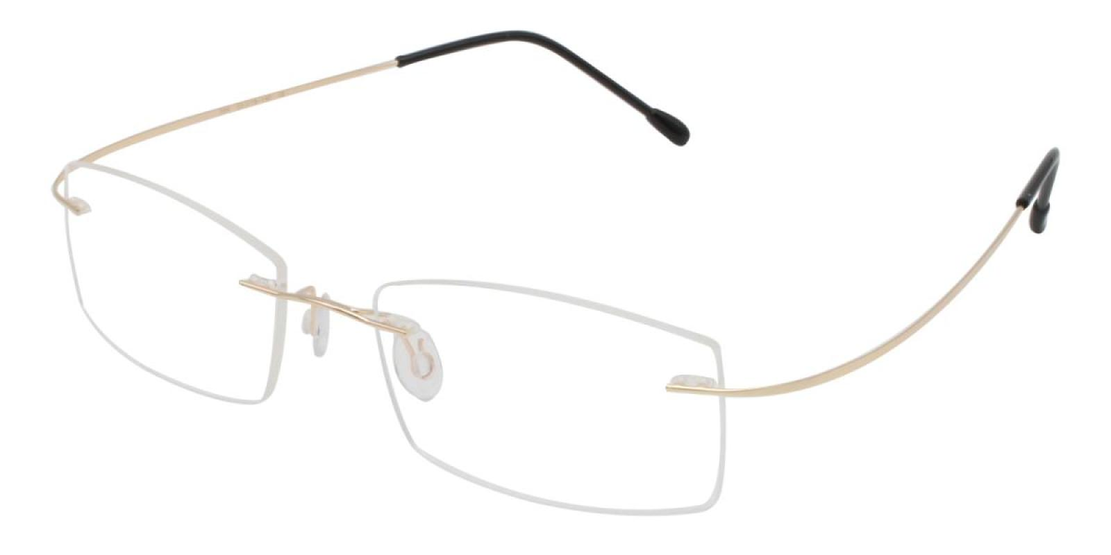 Slimly-Gold-Varieties-Memory / Metal-Eyeglasses-additional1