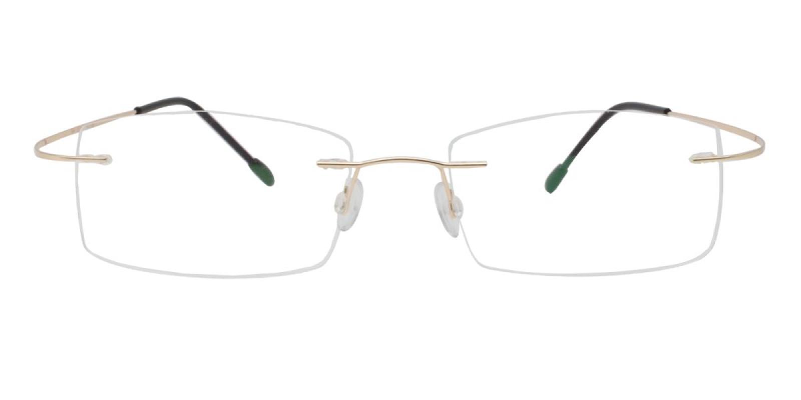 Slimly-Gold-Varieties-Memory / Metal-Eyeglasses-additional2