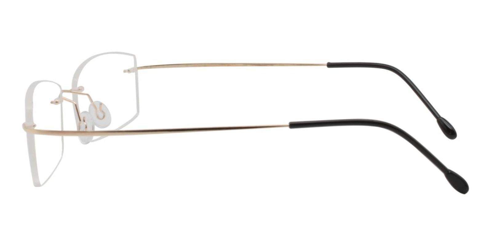 Slimly-Gold-Varieties-Memory / Metal-Eyeglasses-additional3