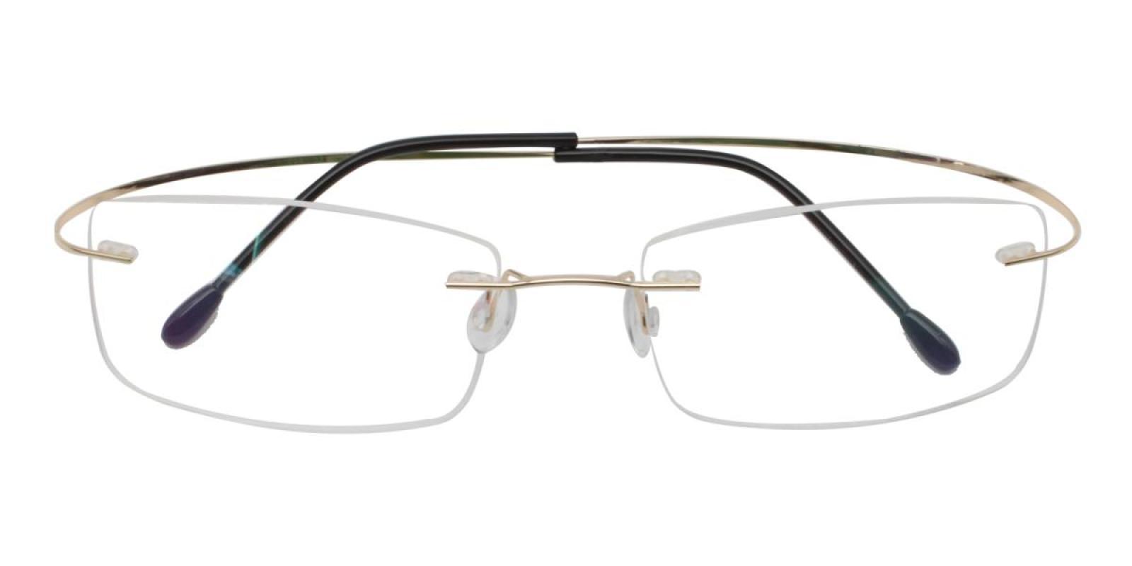 Slimly-Gold-Varieties-Memory / Metal-Eyeglasses-detail