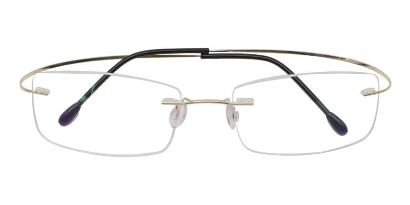 Slimly-Gold-Eyeglasses
