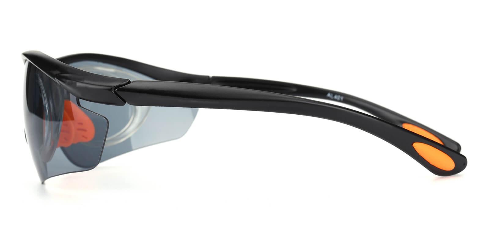Preavey-Black-Square-Plastic-SportsGlasses-detail