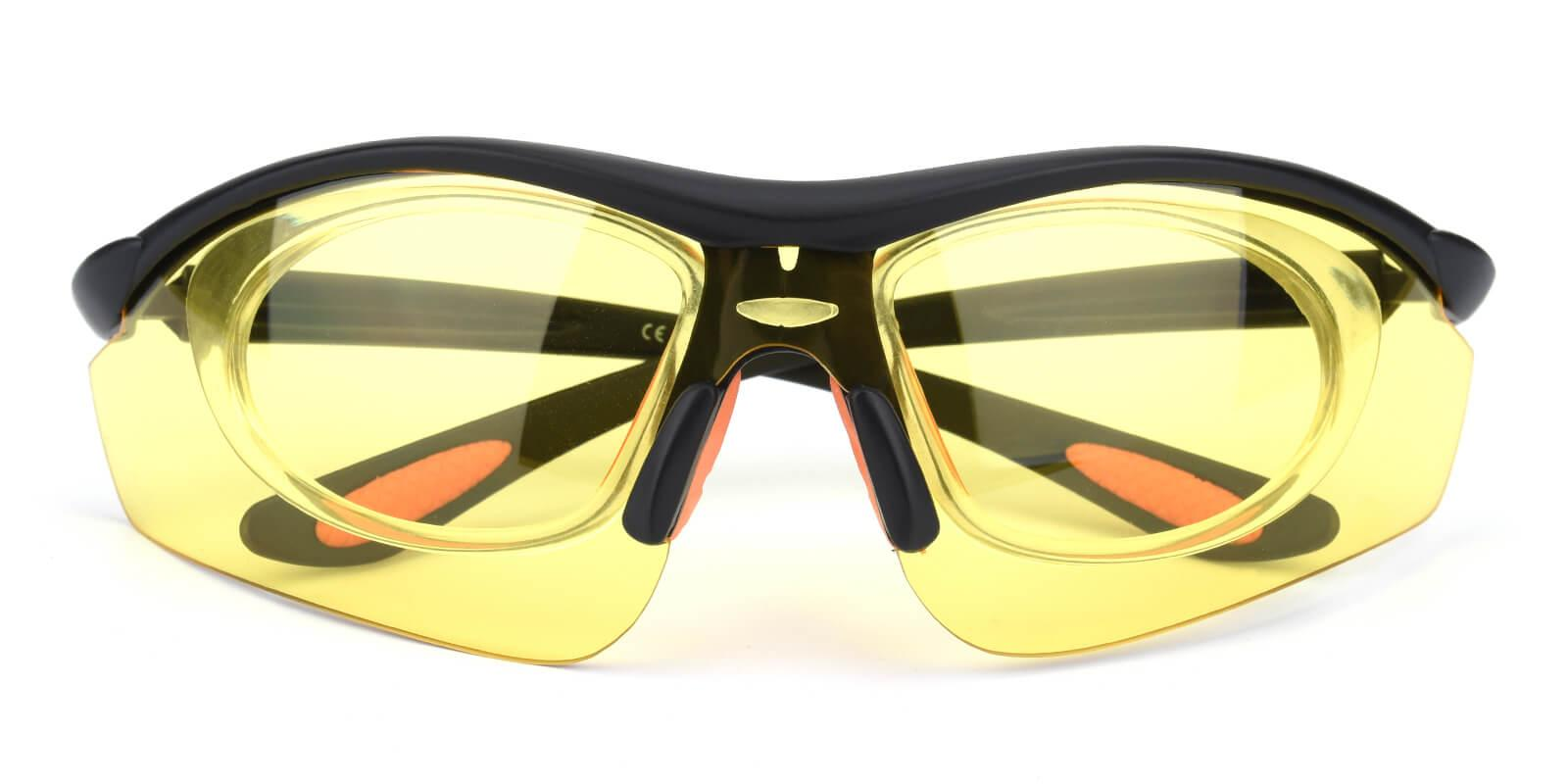 Preavey-Yellow-Square-Plastic-SportsGlasses-detail