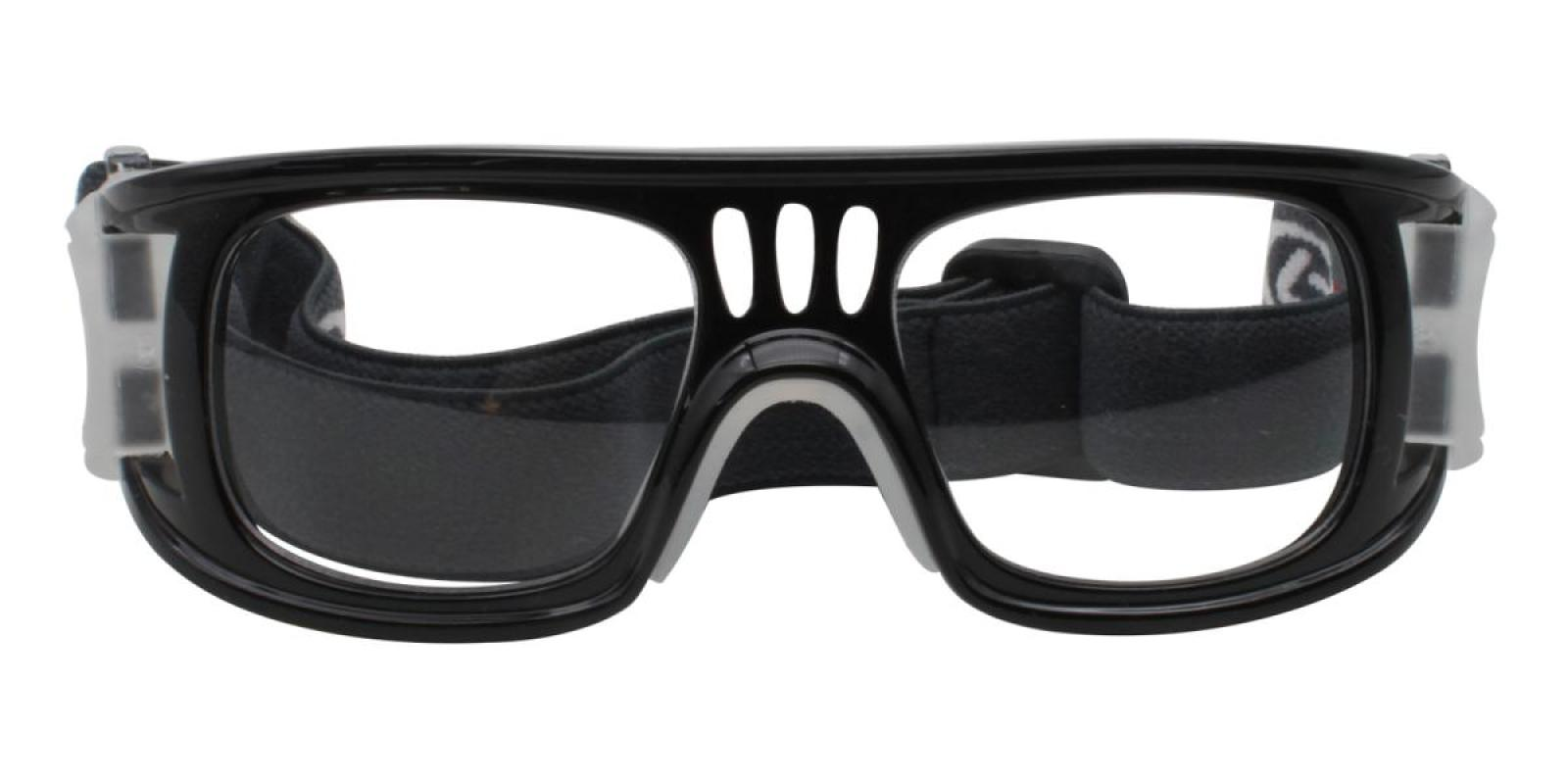 Baskinpo-Black-Square-Plastic-SportsGlasses-detail