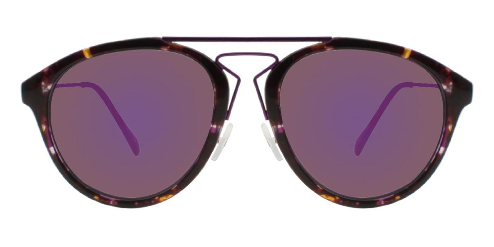 Mali-Purple-Aviator-Metal / Combination / TR-Sunglasses-additional2