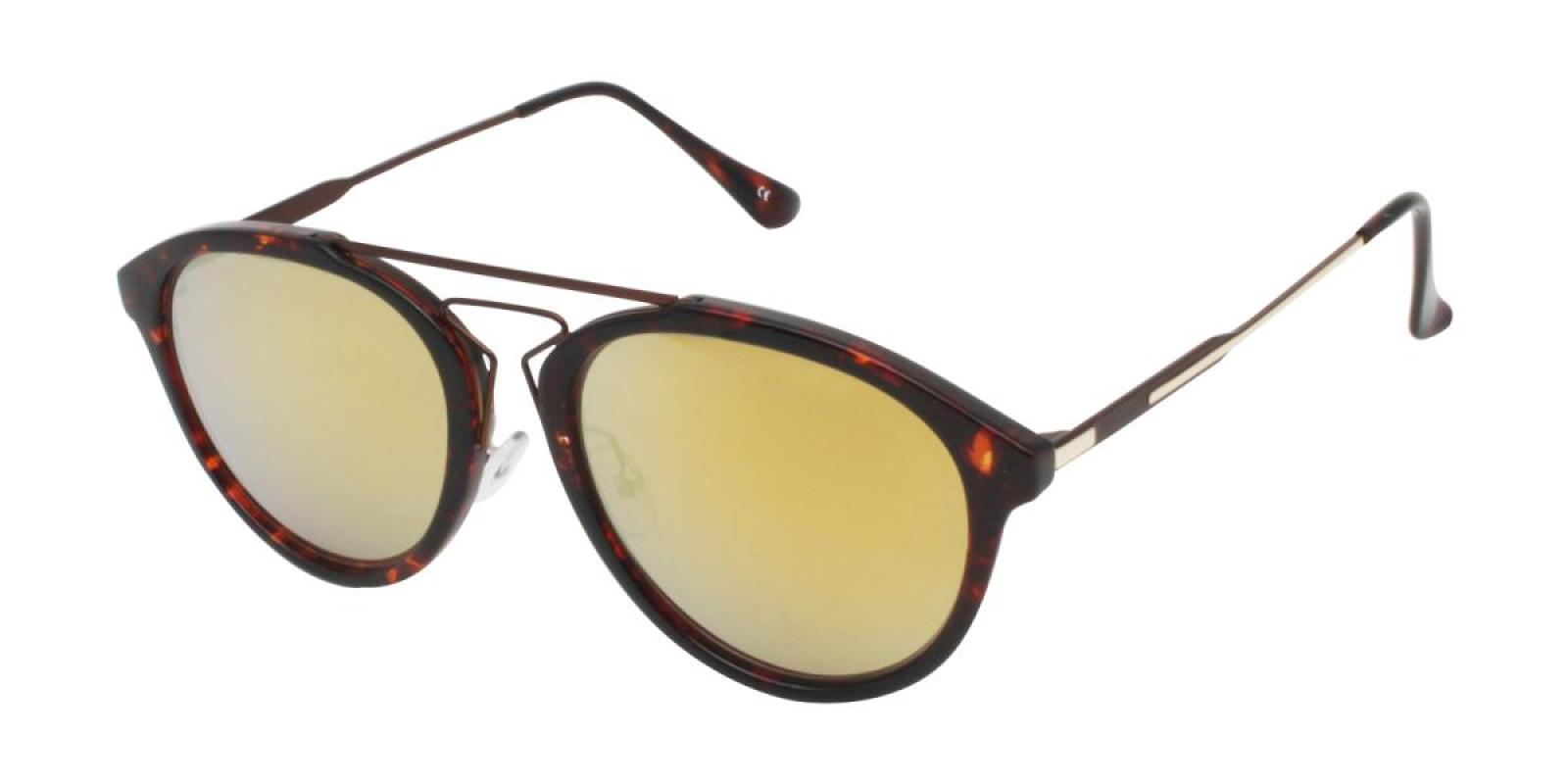Mali-Tortoise-Aviator-Metal / Combination / TR-Sunglasses-additional1