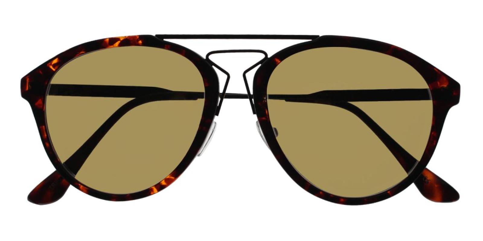 Mali-Tortoise-Aviator-Metal / Combination / TR-Sunglasses-detail