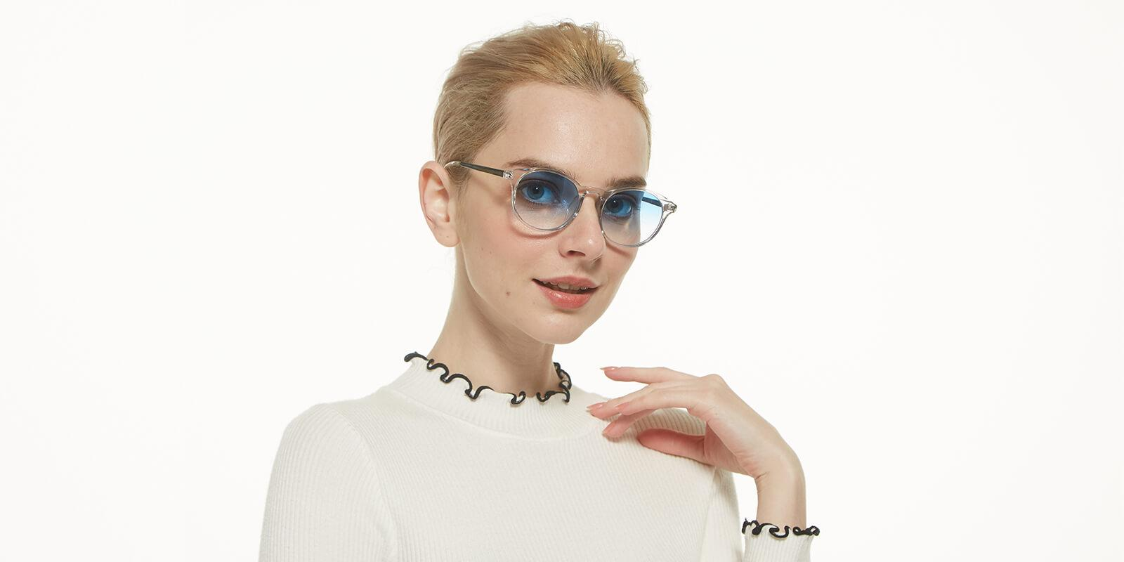 Memoria-Translucent-Combination / Metal / TR-Sunglasses-detail1