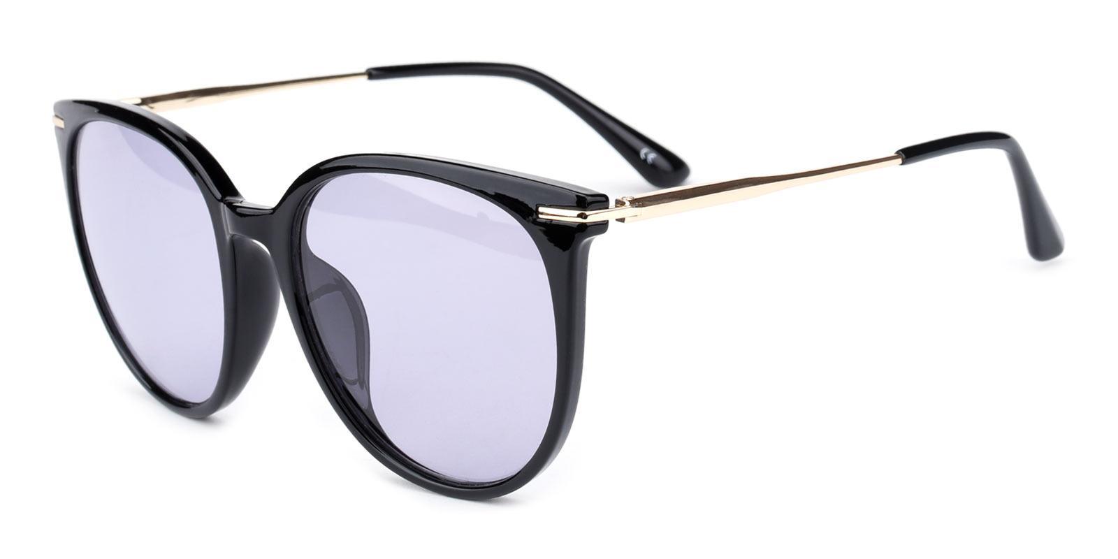 Memoria-Black-Round / Cat-Metal / Combination / TR-Sunglasses-additional1
