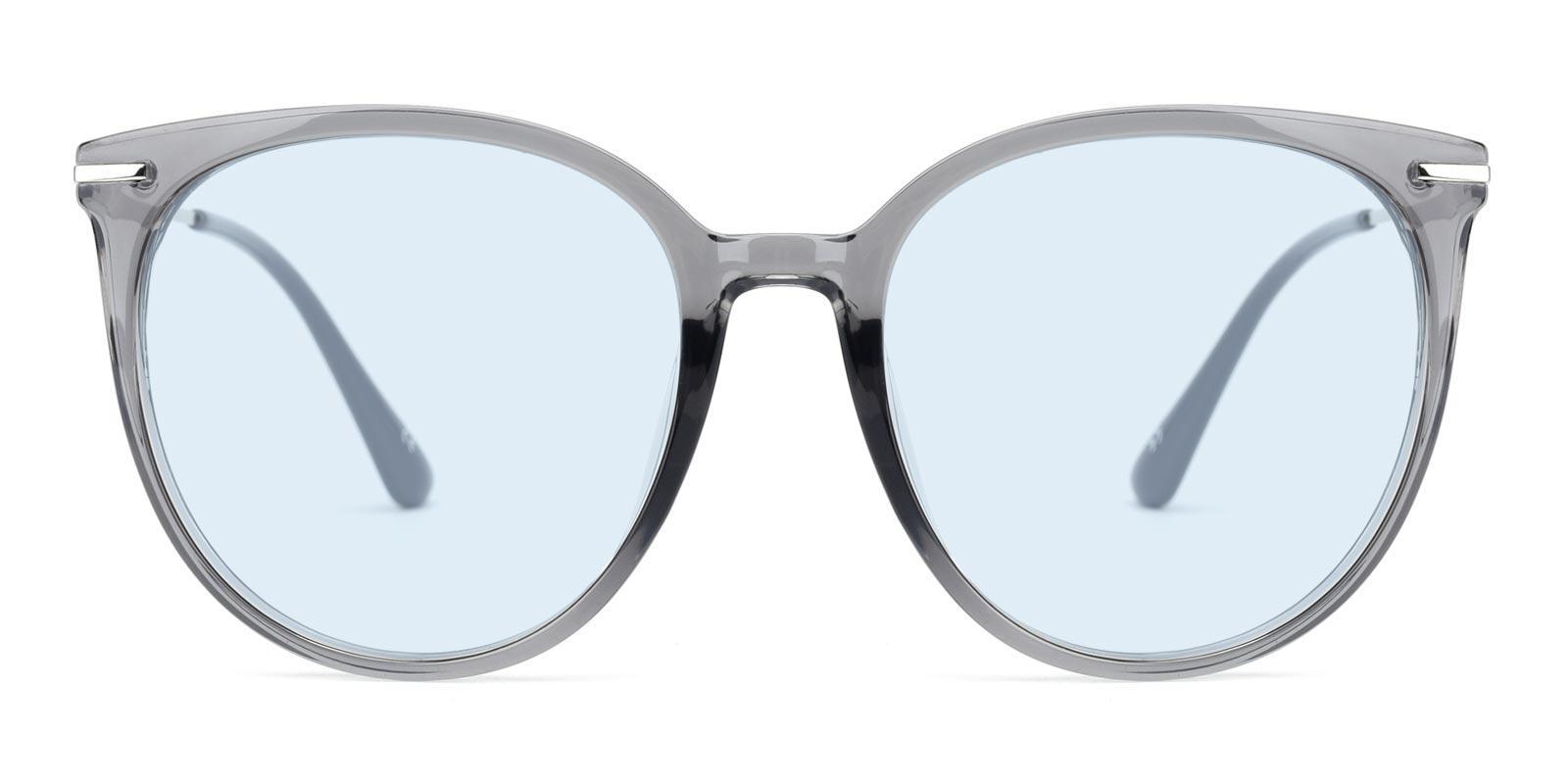 Memoria-Gray-Round / Cat-Metal / Combination / TR-Sunglasses-detail