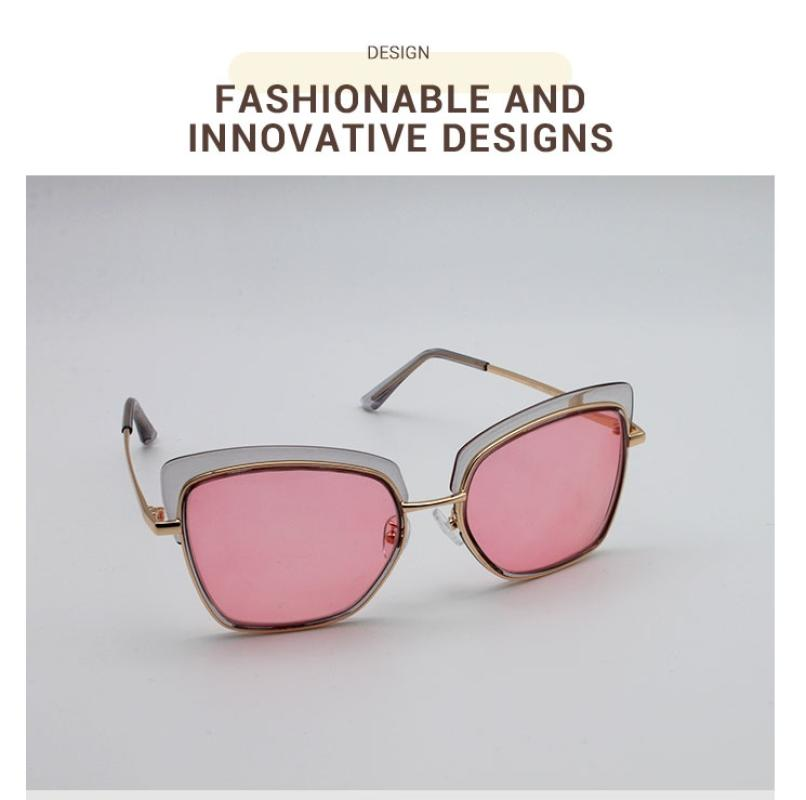 Riotousy-Translucent-Metal / Combination / TR-Sunglasses-detail3
