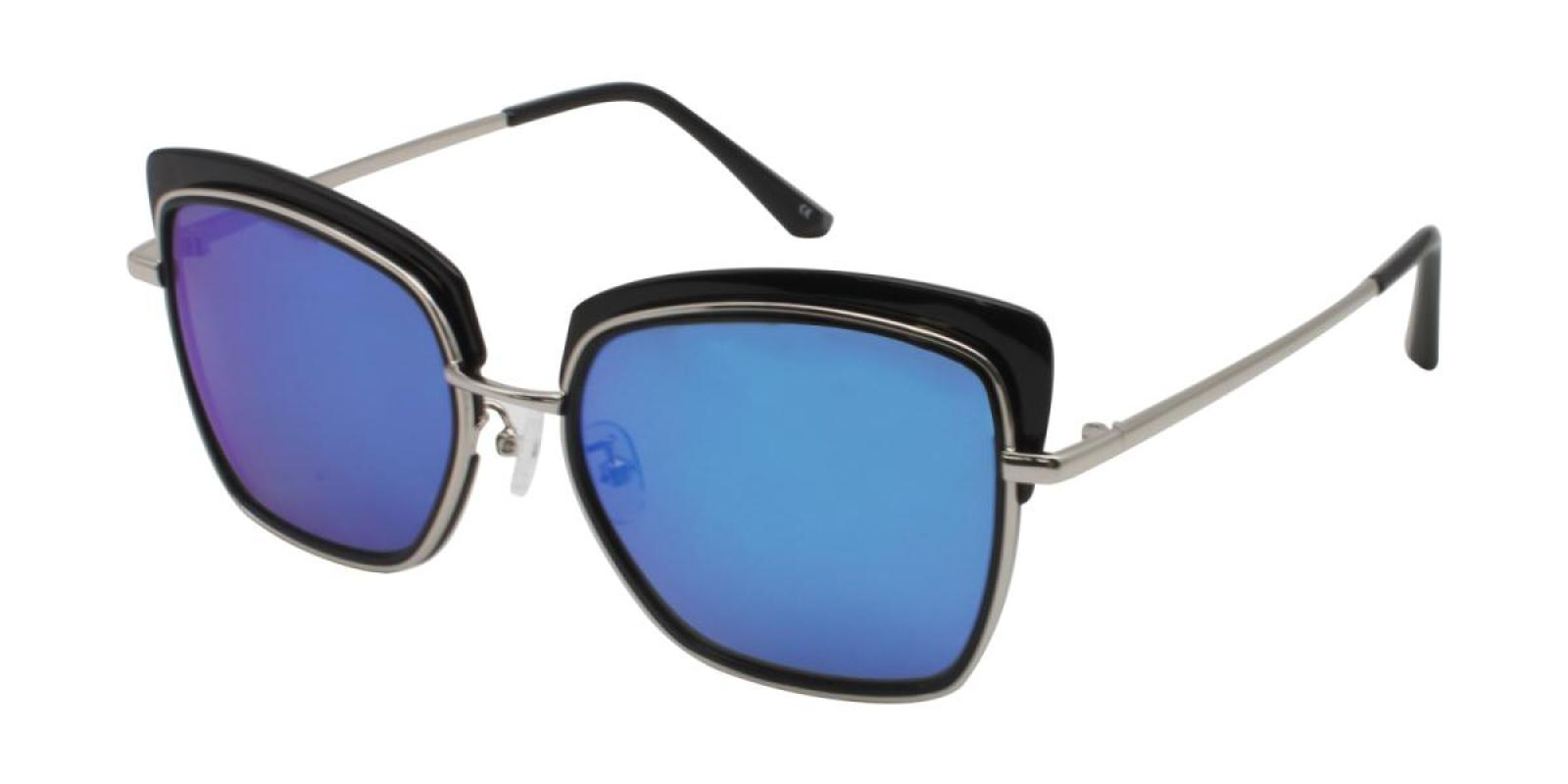 Riotousy-Black-Cat-Combination / Metal / TR-Sunglasses-additional1