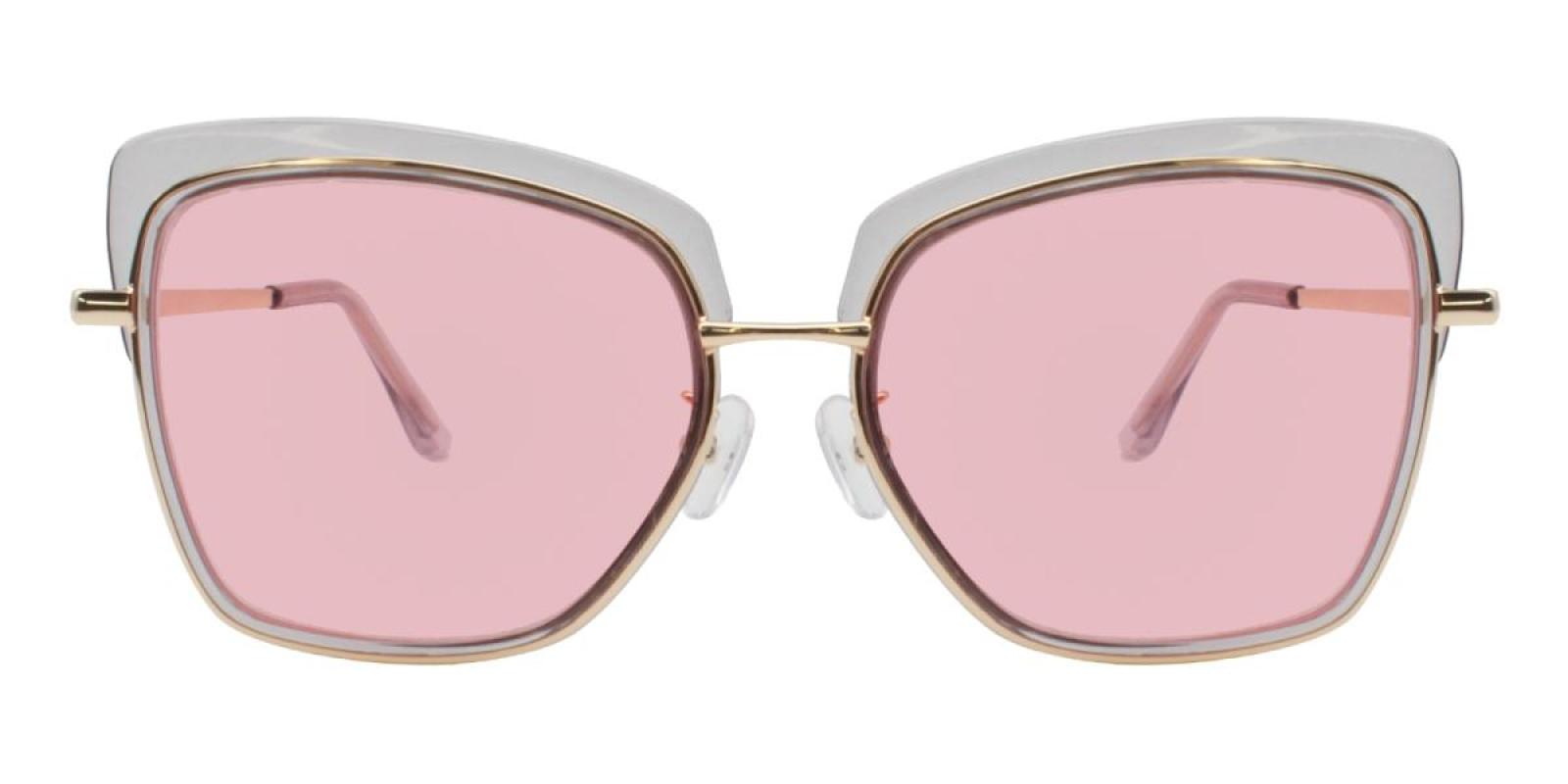 Riotousy-Translucent-Cat-Metal / Combination / TR-Sunglasses-additional2