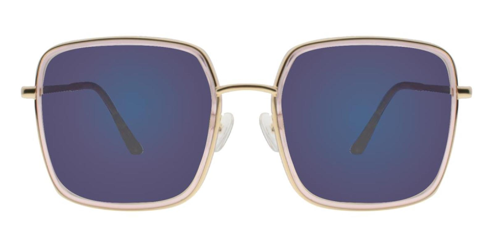 Rongstar-Translucent-Geometric-Combination / Metal / TR-Sunglasses-additional2