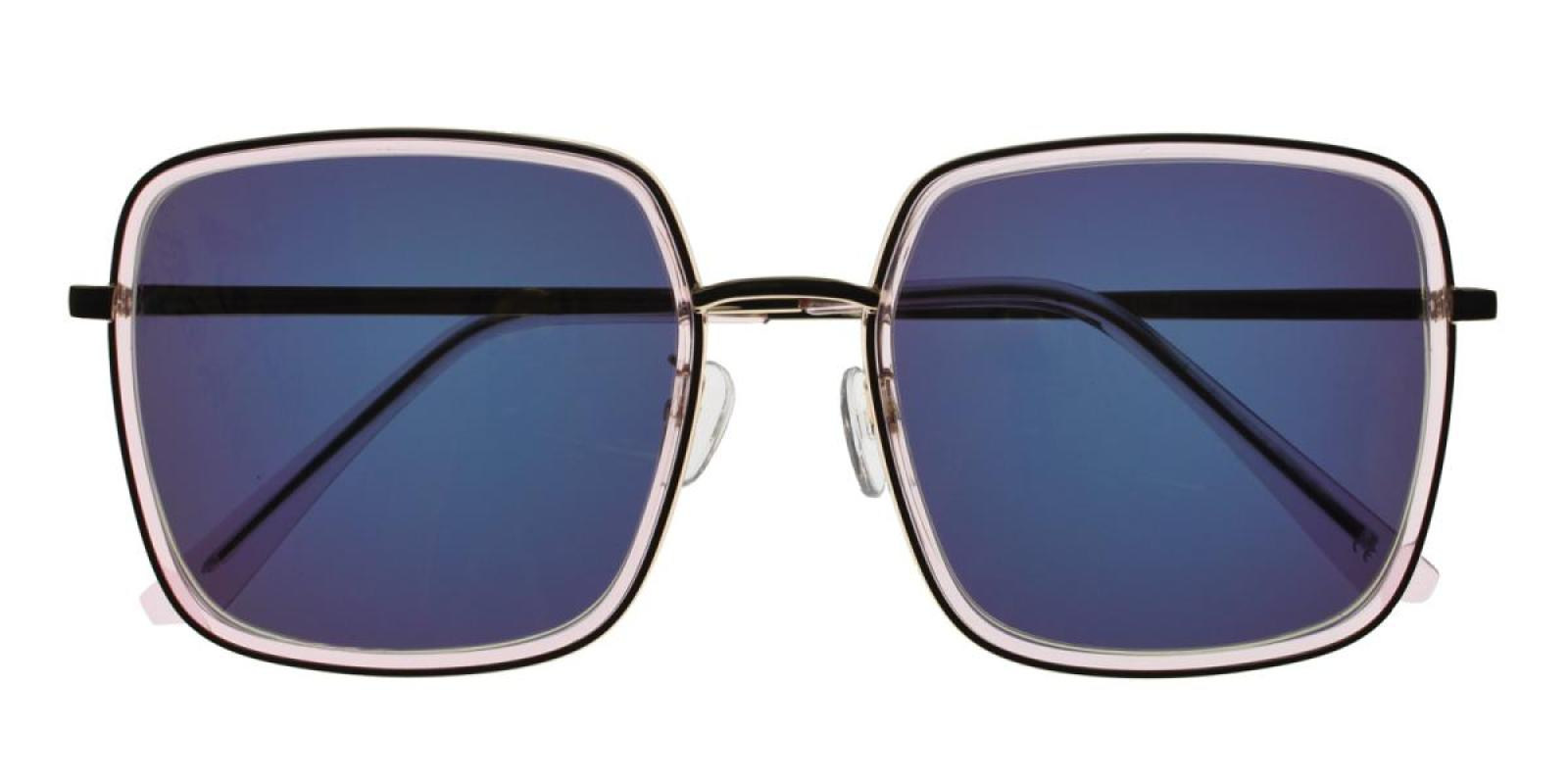Rongstar-Translucent-Geometric-Combination / Metal / TR-Sunglasses-detail